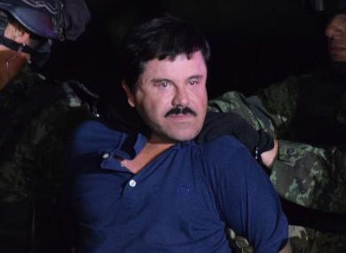 Joaquin ''El Chapo'' Guzman , 2016.