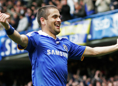 Joe Cole won three Premier League titles at Chelsea.