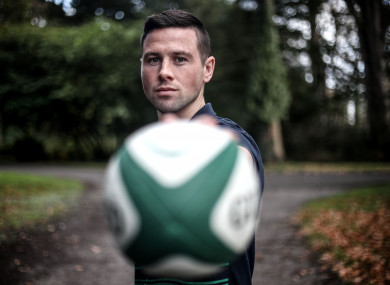 John Cooney: named at No 9 for Ireland's final Test of the year.