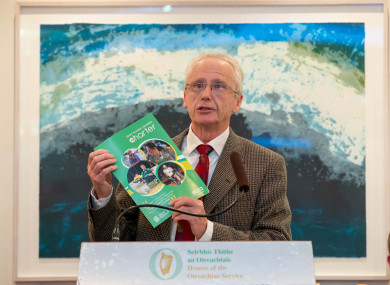 Sport Ireland chief John Treacy.