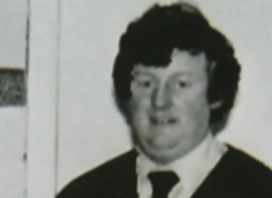 File photo of Bill Kenneally from the 1980s.