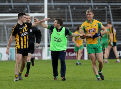 Kieran Fitzgerald and Barry McHugh were sent-off in Sunday's final in Galway.