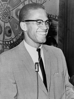 Malcolm X, also known as el-Hajj Malik el-Shabazz.