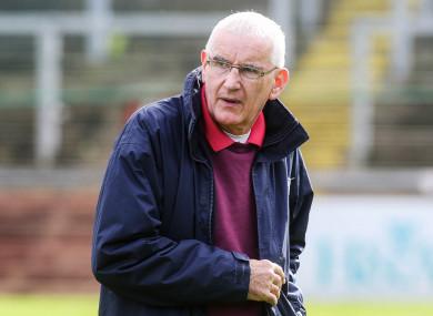 Mickey Moran enjoyed huge success at club level with Slaughtneil.