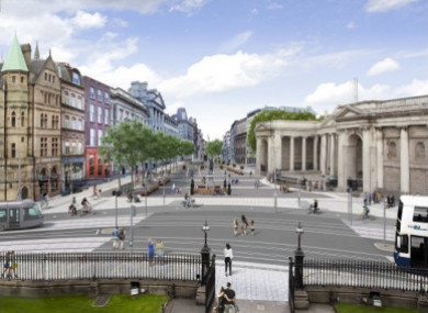 The rejected College Green Plaza