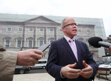 Peadar Tóibín resigned from Sinn Féin after he voted against the abortion legislation in the Dáil and was suspended from the party.
