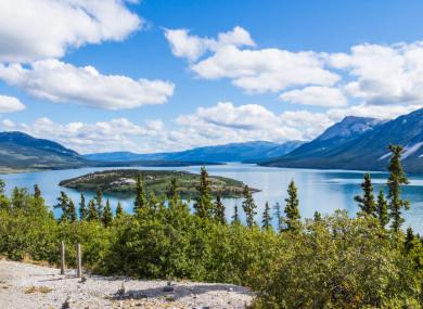 The Yukon region in Canada.