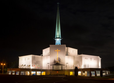 Basilica of Our Lady of Knock will light up red on 28 November.