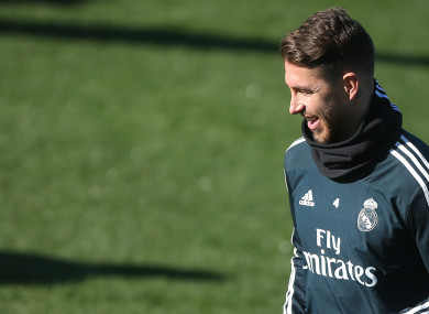 ada601421 Real Madrid deny allegation that Ramos breached anti-doping regulations