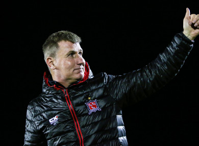 Dundalk manager Stephen Kenny.