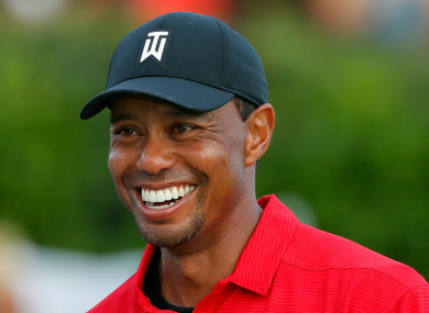 Tour Championship winner Tiger Woods