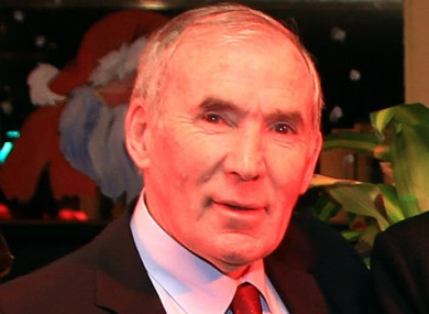 Aloysius 'Weeshie' Fogarty: the iconic GAA broadcaster died on Sunday, aged 77.