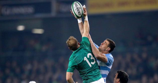 As it happened: Ireland v Argentina, November Tests