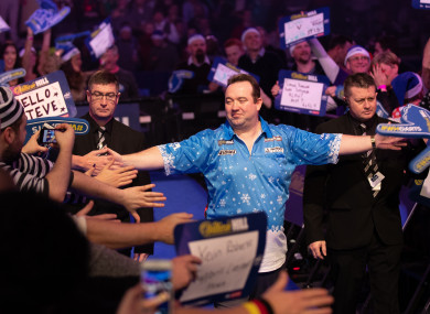 Brendan Dolan believes he's reaping the rewards from taking darts more seriously over the last six or seven months.