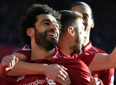 Robbie Fowler doesn't believe that Mo Salah has become a Liverpool legend just yet.