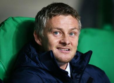 New United caretaker boss Solskjaer.