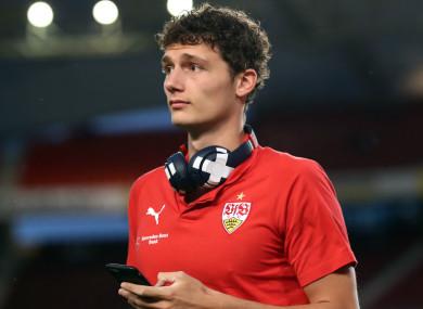 Stuttgart defender Benjamin Pavard.