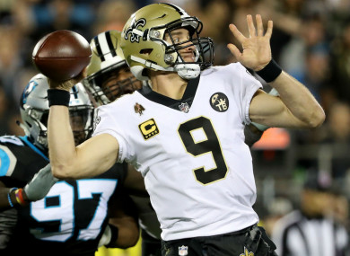Saints move closer to securing home advantage in NFL playoffs after edging  out Panthers 080a1ee1a