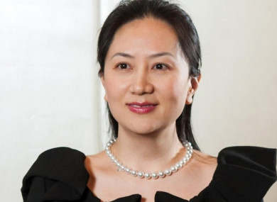 Huawei Finance Chief Meng Wanzhou, who was arrested in Canada last week