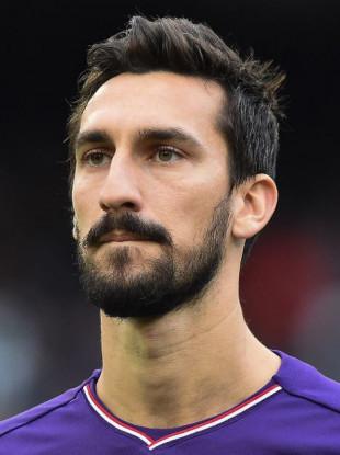Davide Astori of ACF Fiorentina pictured in December 2017.
