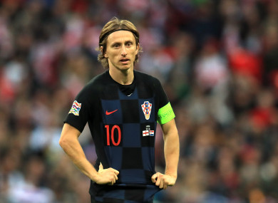 Luka Modric is expected to be crowned winner of the Ballon d'Or tonight.