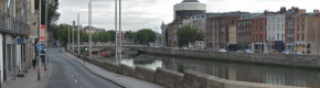 Gardaí close section of Dublin quays after apparent stabbing incident