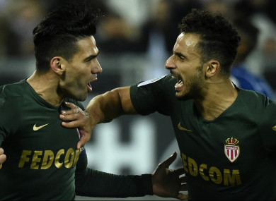 Falcao was the hero for Monaco.