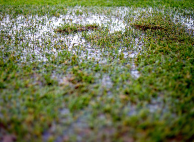 The inclement weather has affected the 2019 GAA calendar already.