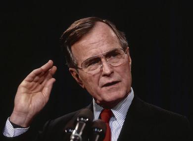 Former U.S. President George H.W. Bush