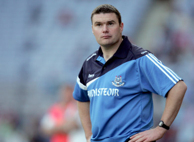 Dublin were 2010 All-Ireland champions under Gerry McGill.