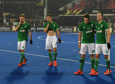 Ireland suffered a crushing defeat in India earlier.