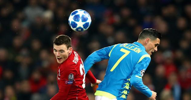 As it happened: Liverpool vs Napoli, Champions League