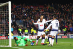 Late Lucas strike in Barcelona sends Tottenham through to last 16