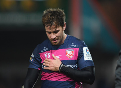 Cipriani suffered the injury in last Friday's defeat to Exeter.