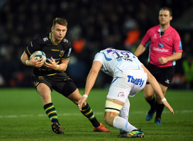 Biggar in action against the Chiefs.