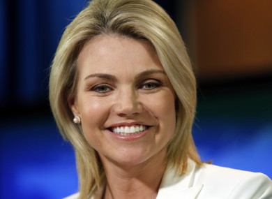 State Department spokeswoman Heather Nauert is expected to be announced as the UN ambassador today.