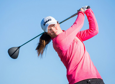 Leona Maguire showed nerves of steel to clinch a top-five finish in Morocco.