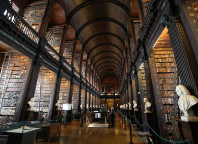 The Trinity College Long Room