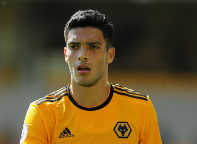 Raul Jimenez has registered four goals and four assists in the Premier League this season.