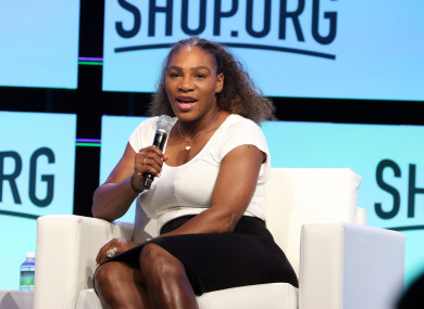 Serena Williams (file pic).