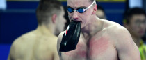 Shane Ryan: goes in the 100m freestyle semi-final this morning.