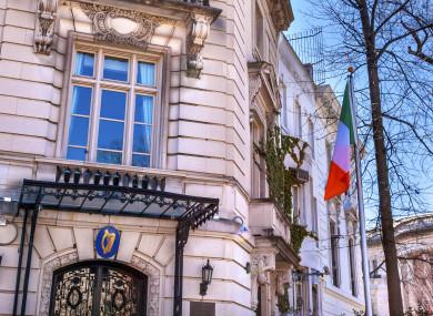 The Irish Embassy in Washington DC.
