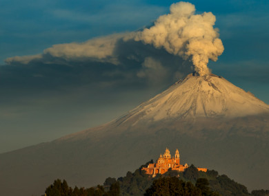 Popocatépetl, file photo.