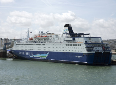 53c095c03a  I m going to ask them to reverse it   Ross  deeply regrets  Irish Ferries   Rosslare-France announcement