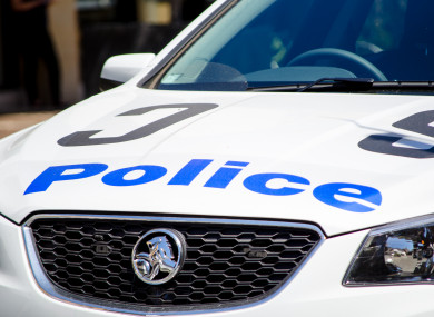 File photo of a police car in Sydney.