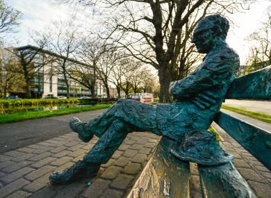 Patrick Kavanagh Statue, Dublin