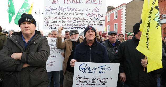 'Give families a chance to stay in their homes': Hundreds attend anti-eviction protest in Roscommon