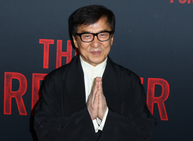 File photo of Jackie Chan.