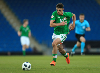 Ireland underage star, Troy Parrott.