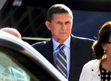 Former White House National Security Adviser to President Donald Trump Michael Flynn